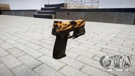 Pistola HK USP 45 tigre para GTA 4 segundo screenshot