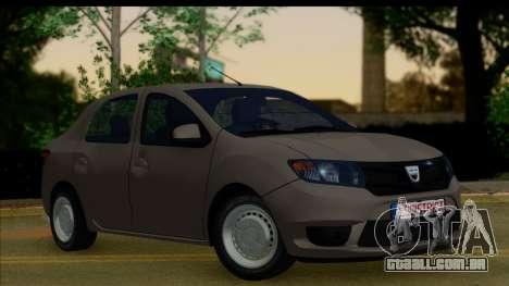 Dacia Logan 2013 para GTA San Andreas