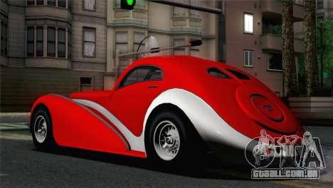 GTA V Truffade Z-Type [IVF] para GTA San Andreas esquerda vista