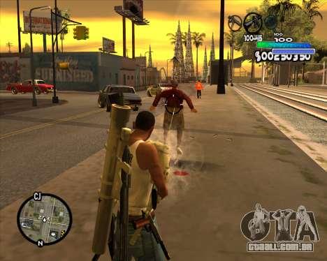 С-HUD de Metro para GTA San Andreas