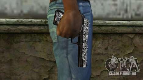Nova Arma v1 para GTA San Andreas terceira tela