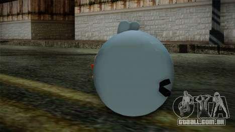 Blue Bird from Angry Birds para GTA San Andreas segunda tela