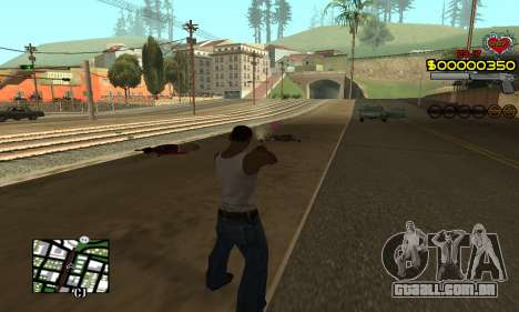 C-HUD By Fernando para GTA San Andreas terceira tela