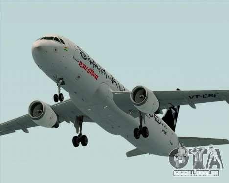 Airbus A320-200 Air India (Star Alliance Livery) para o motor de GTA San Andreas