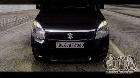 Suzuki Wagon R 2010 para GTA San Andreas vista direita