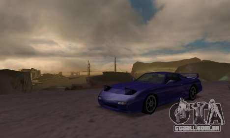 Beta ZR-350 para GTA San Andreas traseira esquerda vista