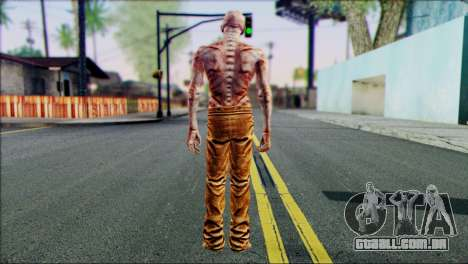 Outlast Skin 4 para GTA San Andreas segunda tela