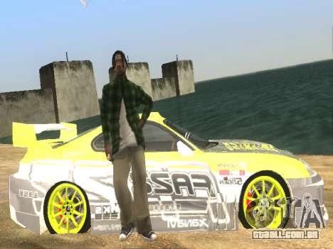 Simples ENB para baixa de PC para GTA San Andreas quinto tela