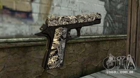 Nova Arma v1 para GTA San Andreas segunda tela