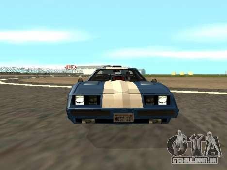 New Phoenix para vista lateral GTA San Andreas