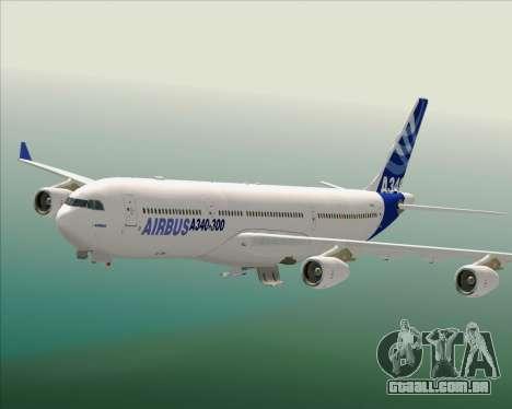 Airbus A340-300 Airbus S A S House Livery para GTA San Andreas