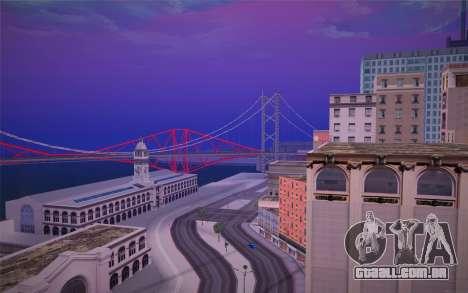 FaFan ENB series para GTA San Andreas terceira tela