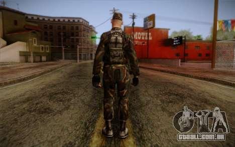 Soldier Skin 3 para GTA San Andreas segunda tela
