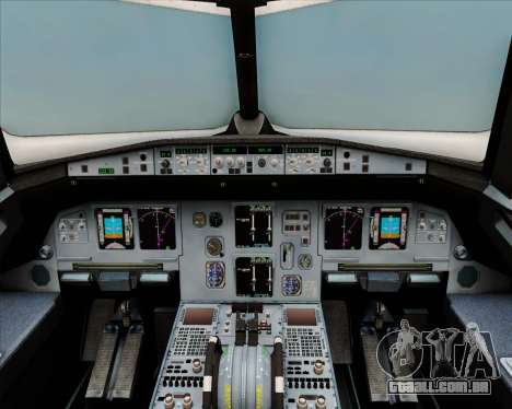 Airbus A320-200 Air India (Star Alliance Livery) para GTA San Andreas interior