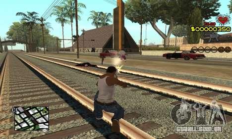 C-HUD By Fernando para GTA San Andreas segunda tela