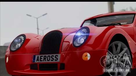 Morgan AeroSS 2013 v1.0 para GTA San Andreas vista direita