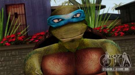 Leo (Tartarugas Ninja) para GTA San Andreas terceira tela