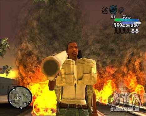 С-HUD de Metro para GTA San Andreas segunda tela