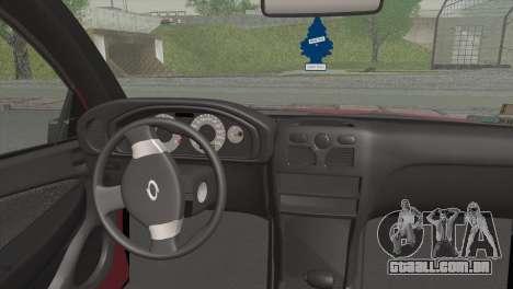 Renault Samsung SM3 2007 para GTA San Andreas traseira esquerda vista