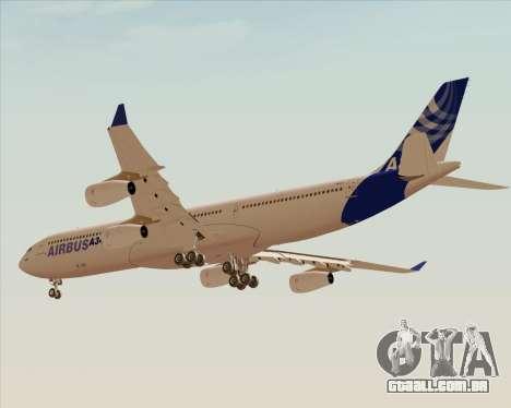 Airbus A340-300 Airbus S A S House Livery para GTA San Andreas vista traseira
