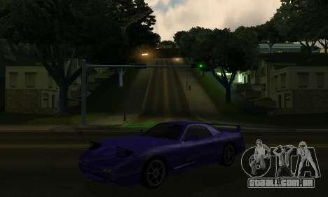 Beta ZR-350 para GTA San Andreas vista interior