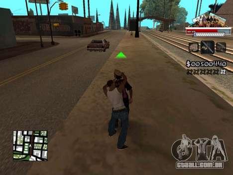 CLEO HUD for SA:MP - RP para GTA San Andreas terceira tela