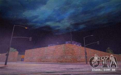 FaFan ENB series para GTA San Andreas por diante tela