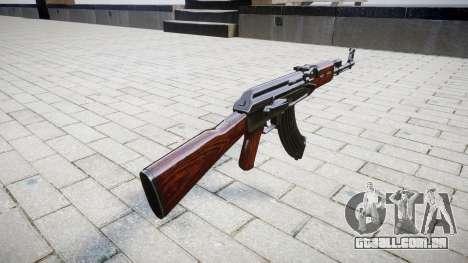 A AK-47 Estoque para GTA 4 segundo screenshot