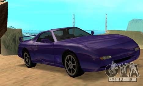 Beta ZR-350 para vista lateral GTA San Andreas