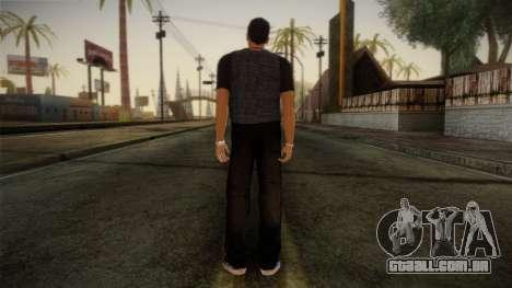 Gedimas Jamal Skin HD para GTA San Andreas segunda tela