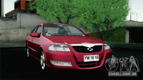 Renault Samsung SM3 2007 para GTA San Andreas