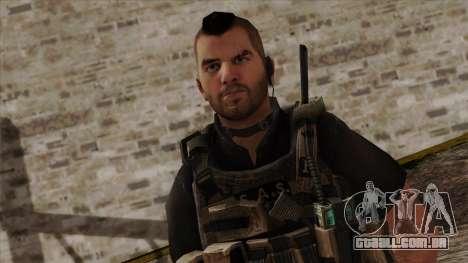 Modern Warfare 2 Skin 17 para GTA San Andreas terceira tela