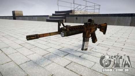 Tático de assalto M4 rifle de destino para GTA 4