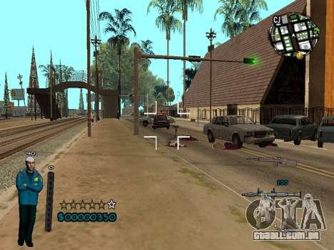 FBI HUD para GTA San Andreas terceira tela