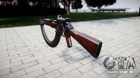 A AK-47 Colimador e destino HICAP para GTA 4 segundo screenshot