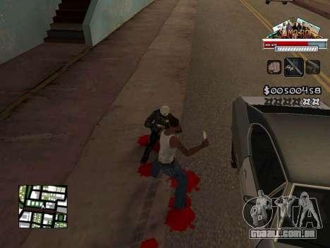 CLEO HUD for SA:MP - RP para GTA San Andreas por diante tela