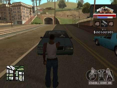 CLEO HUD for SA:MP - RP para GTA San Andreas segunda tela