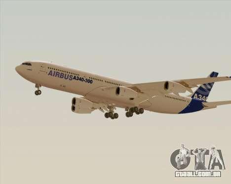 Airbus A340-300 Airbus S A S House Livery para GTA San Andreas vista direita