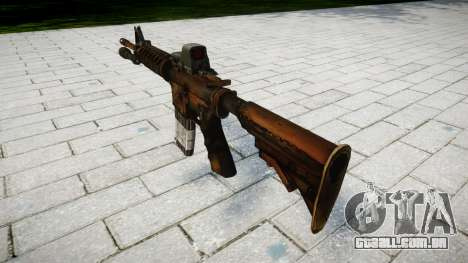 Tático de assalto M4 rifle de destino para GTA 4 segundo screenshot