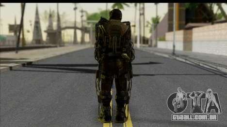 Monolith Exoskeleton para GTA San Andreas segunda tela