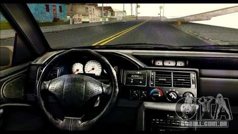 Ford Escort RS Cosworth [HQLM] para GTA San Andreas traseira esquerda vista