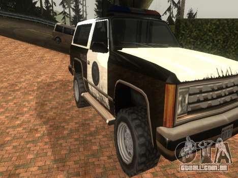 Simples ENB para baixa de PC para GTA San Andreas sétima tela