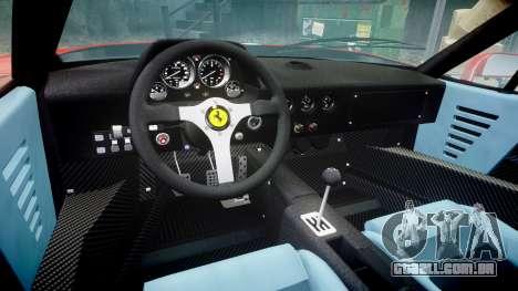 Ferrari F40 1987 [EPM] Tricolore para GTA 4 vista interior