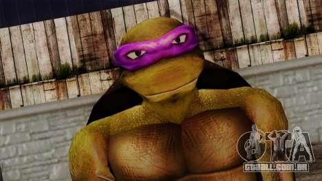 Não (Tartarugas Ninja) para GTA San Andreas terceira tela