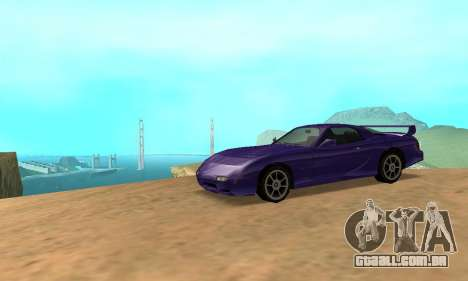 Beta ZR-350 para GTA San Andreas vista direita