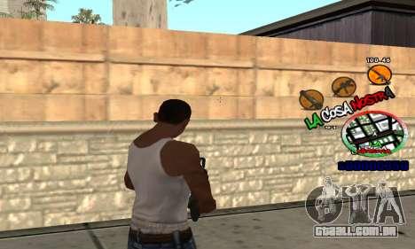 C-HUD La Cosa Nostra para GTA San Andreas terceira tela