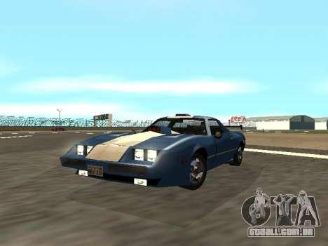 New Phoenix para GTA San Andreas vista traseira