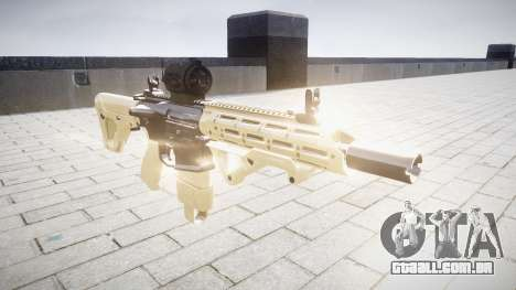 Rifle AR-15 CQB alvo de mira para GTA 4