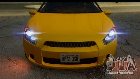 GTA 5 Maibatsu Penumbra IVF para GTA San Andreas traseira esquerda vista