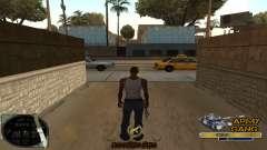 C-HUD Army Gang para GTA San Andreas